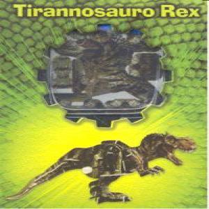Tirannosauro rex puzzle madera 3d