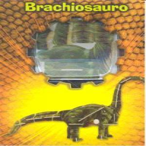 Brachiosauro puzzle madera 3d