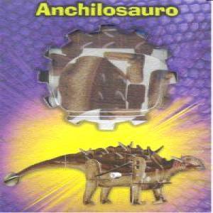 Anchilosauro puzzle madera 3d