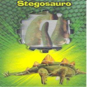 Stegosauro puzzle madera 3d