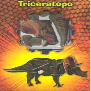 Triceratopo puzzle madera 3d
