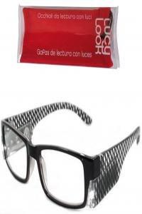 Lucy look gafas negra rombos + 2.50