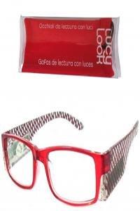 Lucy look gafas rojas rombos + 3.00
