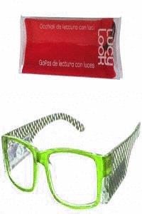 Lucy look gafas verde + 2.00